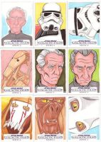 Star Wars Galactic Files Series 2 Sketch Cards 04 by Tyrant-1