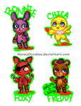 Five Nights at Chibis by HoneyDoodles