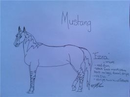 Ezra-Spanish Mustang by obsidianhart