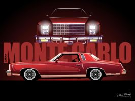 1977 Monte Carlo Wallpaper by CRWPitman