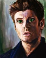 SPN: Baby Faced Dean Winchester by hydraa