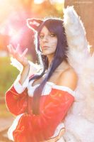 Ahri from League of Legends by Baku-Project