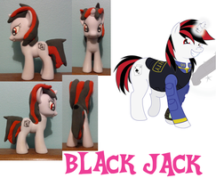 fallout equestria project horizons: Black Jack by Hope-Loneheart