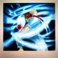 Ryu Hadouken by carrotmann