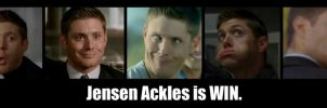 Jensen is WIN by CharlieDaye