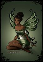Tiana Dark-Fairy-Azaleas-Dolls by InvisibleDorkette