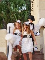 2 Little Flower Girls and A Ring Bearer by ToxiClean