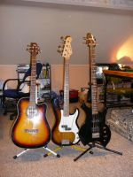 3 Basses by Prythen