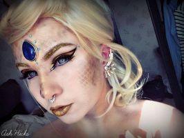 The Winged Dragon Of Ra Inspired Makeup by TheIrishTrixster