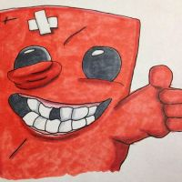 Supermeatboy by FlatsNColors