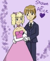 Shawn and Alice by DRei-chan