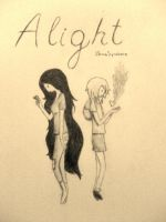 Alight (Finnceline) by Llama-Syndrome