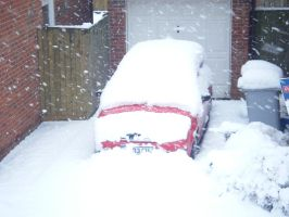 SNOW CAR IS SNOW by Serrio