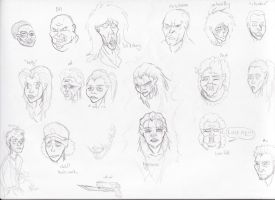 Just faces and stuff by Pat22