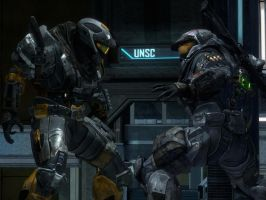 Halo Reach: Fighters by purpledragon104