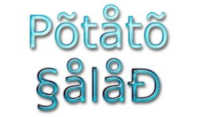 The Potato Salad by potatosalad