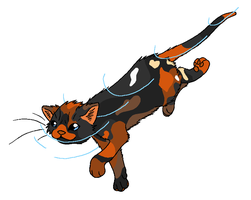 RiverClan - Brindleclaw by WildpathOfShadowClan