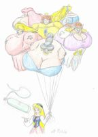 Princess Balloons by ArchangelDreadnought