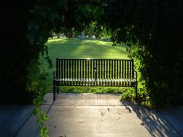 Park Bench 4 by abuseofstock