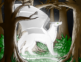 Spirit of the Forest by Lucieniibi