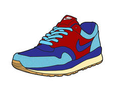 Nike Air Safari Vector by MattisamazingPS