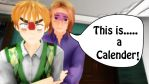 [MMD] This is a Calender (Video link) by SophieNyan