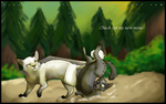 Check out the moooves by Lionstrikewhiskers