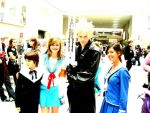 hiro, haruhi, cloud and hana. by Melinu