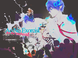 Ao No Exorcist Wall by kagomechan20