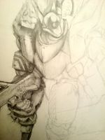 Appleseed Pencil by mikeytron