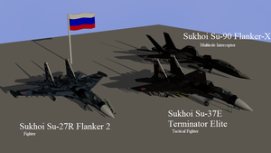 Aircraft pack 1 -Russia by Marksman104