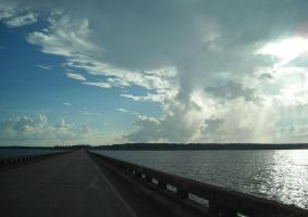 Clouds over lake 4 by robhas1left