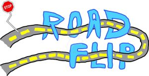 Road Flip Title Card by Capioco