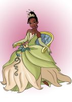 Princess Tiana by RockOutRebel