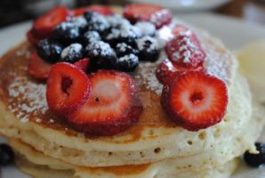 Fresh Fruit Pancakes II by MaePhotography2010