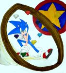 Freedom Fighter: Sonic the Hedgehog by InkArtWriter