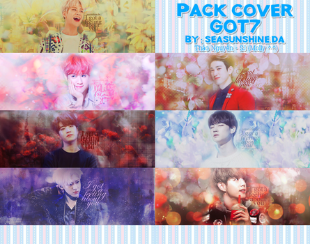 20170202 Pack cover GOT7 by SeaSunshine