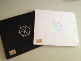 ExoK and ExoM Cd Album w/o Poster by KpopGurl