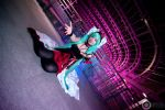 Let me sing, then. - Hatsune Miku Cosplay by Hainecch