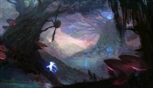 ORI AND THE BLIND FOREST fanart by NeviNakuta