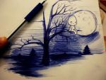 Ball point pen by naldojunio