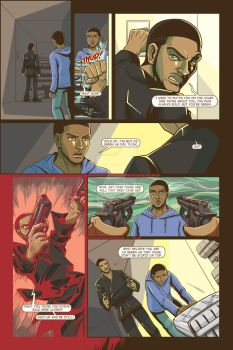 Life Or Death graphic novel Issue 1 one of pages 2 by UMINluvILLUSTRATION