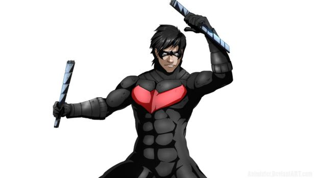 Nightwing Colors by Animixter
