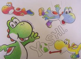 Yoshi Contest Entry by LemonSmoosh