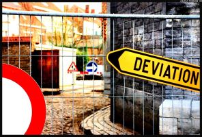 Belgian Deviation by hesitation