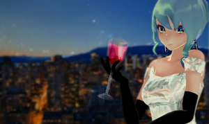 [YamiSweet Picture contest] Elegent Miku by Shichi-4134