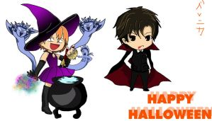 Skip Beat: Happy Halloween by be-nice