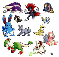 Copic Pokemon 2 by raizy