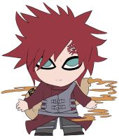 Chibi: Gaara of the Sand by animereviewguy