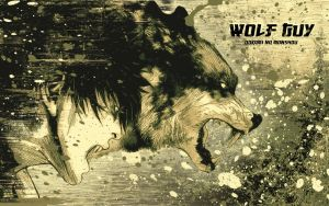 Wolf Guy Green+Cream WP by Hallucination-Walker
